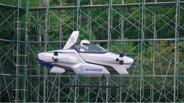 「空飛ぶクルマ」SD-03