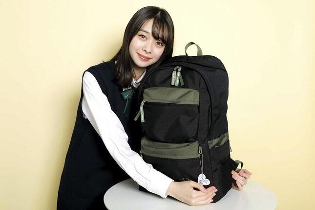 雑誌「Seventeen」の現役モデル・田鍋梨々花さんのアイデアが詰まった「2020-2021コラボリュック」