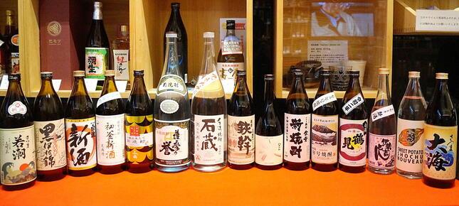 薩摩焼酎を中心とした「旬の新酒」全15種