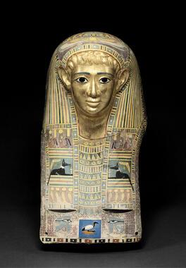《パレメチュシグのミイラ・マスク》後50~後100年頃 (c) Staatliche Museen zu Berlin, Ägyptisches Museum und Papyrussammlung / M. Büsing