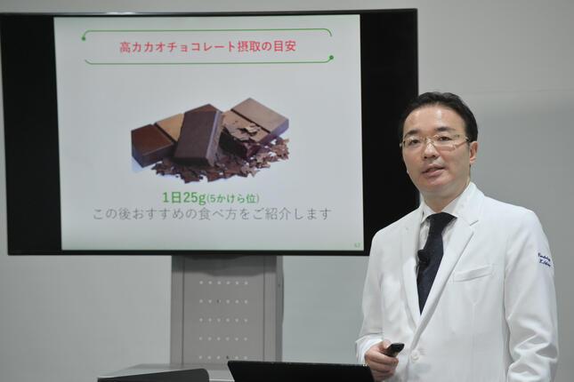 戸田中央総合病院心臓血管センター内科嗜好品外来担当医師の椎名一紀氏
