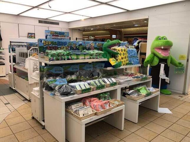 日本でも夏にポップアップショップを開催していた(編集部撮影)
