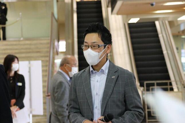 NTTドコモビジネスクリエーション部・XRビジネス推進担当部長の奥村浩之氏
