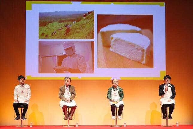 チーズ業界の現状や課題について生産者が語るメディア向けセミナーも開催