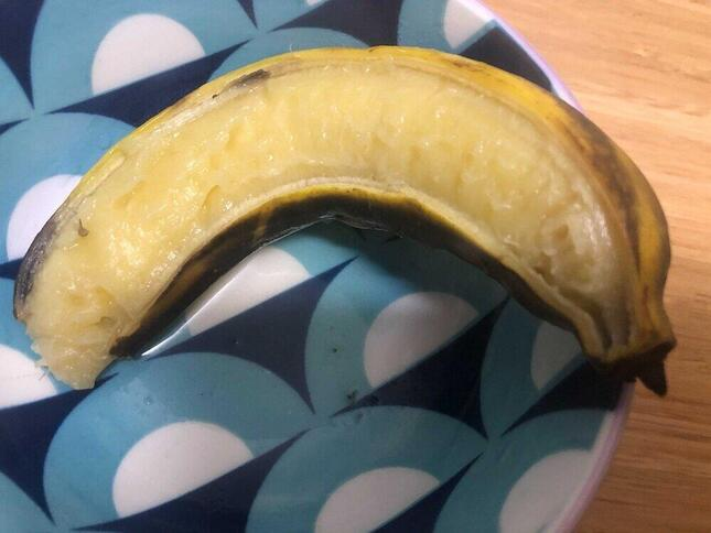 トロッとしたバナナのおでんはデザート代わりに