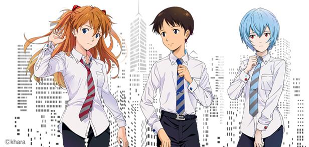 人気アニメ「エヴァンゲリオン」と「i-Shirt」がコラボ!