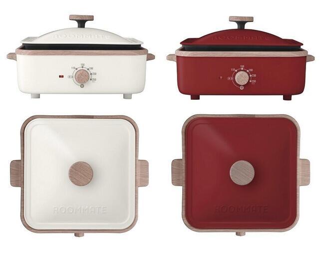 たこ焼き・炒め・焼き・蒸し料理がこれ1台で