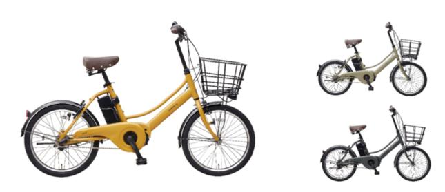 都心での使いやすさに特化した小型サイズの電動アシスト自転車