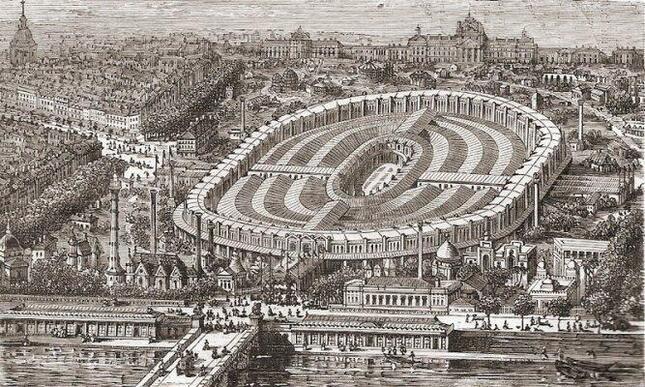 1867年のパリ万博