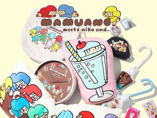 タイや日本で人気の「マムアンちゃん」とコラボ!