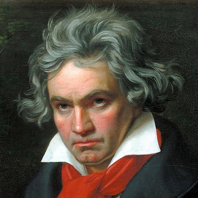 意思の強さをうかがわせる孤高の天才ベートーヴェンの肖像