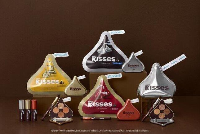 HERSHEY'S KISSES chocolateをリアルに再現したメイクアップアイテム