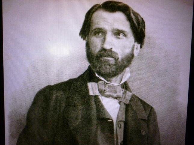 マクベスを書いた頃の、若きヴェルディの肖像