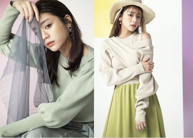 モデル・貴島明日香さんとコラボした春の雰囲気漂う好印象モテ服
