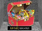 宝箱があらわれた! 開けるワクワクをリアルで楽しむ「勇者の宝箱レベル100」