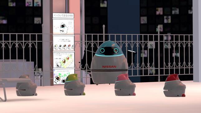 日産自動車のロボットカー「エポロ」
