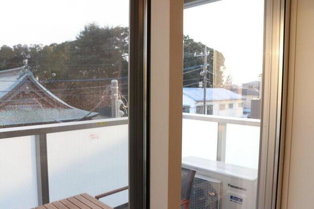 高断熱複層ガラスと高断熱サッシの二重構造