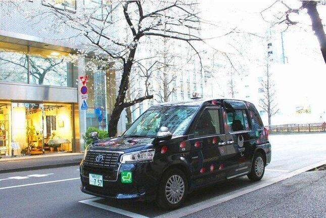 密を避けて楽しめる「お花見タクシー2021」
