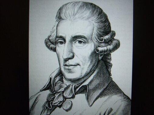 ハイドンの肖像画。温厚な人柄だったらしく、それも『パパ・ハイドン』と呼ばれる一因となっている