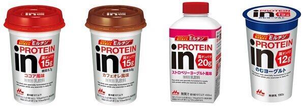 プロテイン配合量は15g、20g、12g