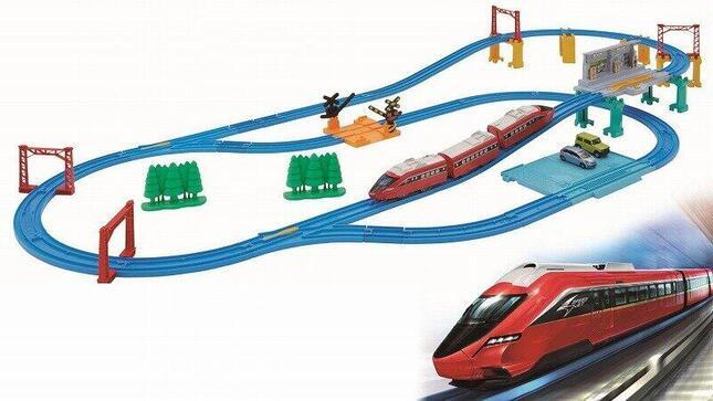 夢の列車「スピードジェット」やレール、情景パーツが揃ったセット