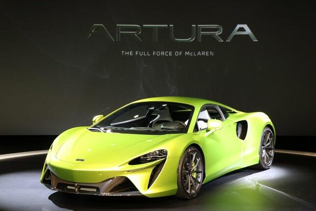 量産型ハイブリッドスーパーカー「アルトゥーラ」