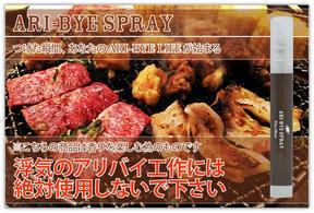 「ARI-BYE スプレー Fire Meat」