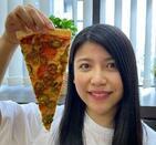 「ドミノ・ピザ」直径46センチのピザ 菓子やドリンクも「巨大化ブーム」