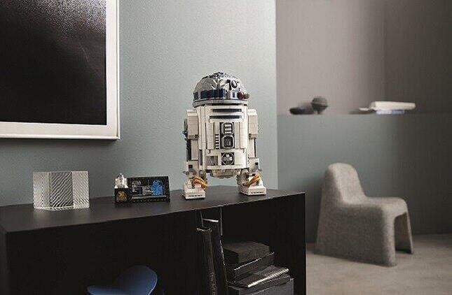 「スター・ウォーズ」の象徴「R2-D2」が組み立てられる「大人レゴ」