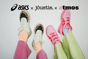 ouetie×ASICS×atmos pinkトリプルコラボアイテム