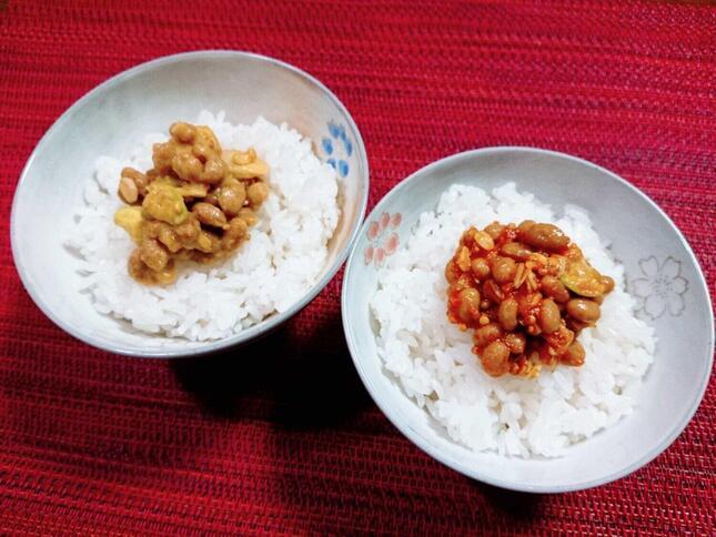 納豆×トマトソース、コーンソースが楽しめる「美納豆のデリ」