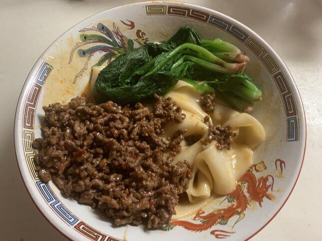 中国で食べられている「ビャンビャン麺」カルディから登場