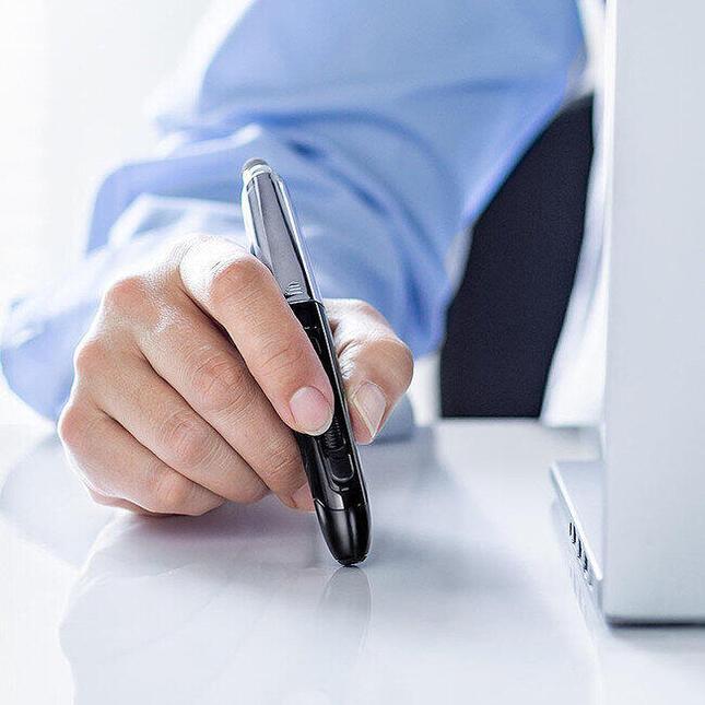 ペンを持つ感覚で使えるペン型Bluetoothマウス