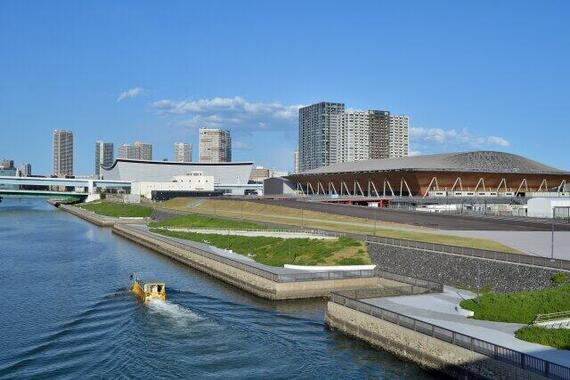 東京五輪に向けて多くの競技施設が整備された