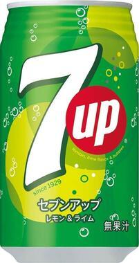セブンアップは1929年に米国で誕生した(画像はサントリー食品インターナショナル広報提供)