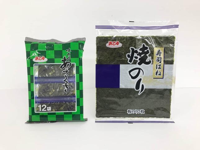 袋入りタイプのノリ(画像2)