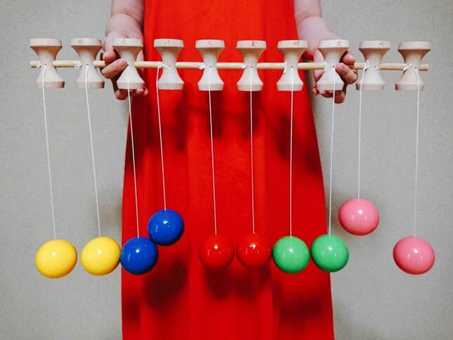 紐が皿に絡まり、玉の長さが変わってしまっている状態で挑戦すると、成功させようがないので注意
