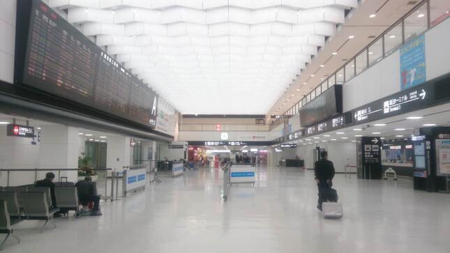 空港では水際対策が取られているが