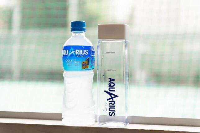 アクエリアス「水分補給や熱中症に関する実態調査」