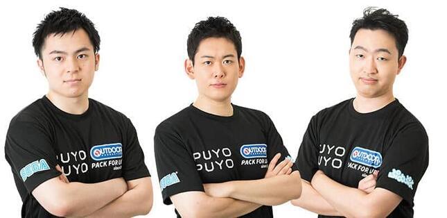 左から、ぴぽにあ選手、oka選手、SAKI選手