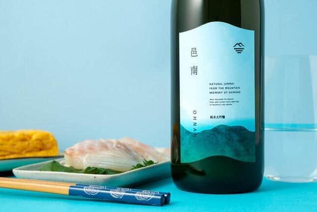 「KURAND」で販売中の純米大吟醸酒「邑南-ohnan-」
