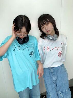 全6種類各2色のTシャツたち