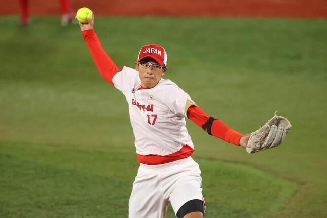 侍ジャパンでも上野由岐子投手の活躍を見たいファンが(写真:YUTAKA/アフロスポーツ)