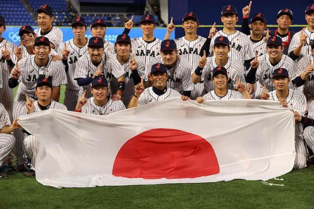 侍ジャパンが1984年ロサンゼルス大会以来の金メダル獲得(写真:長田洋平/アフロスポーツ)