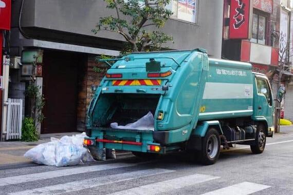 職員がコロナ感染で台東区「不燃ゴミ」回収取りやめ(画像はイメージ)