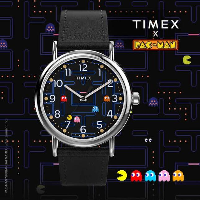 アメリカンブランド「TIMEX」と「パックマン」がコラボ第2弾