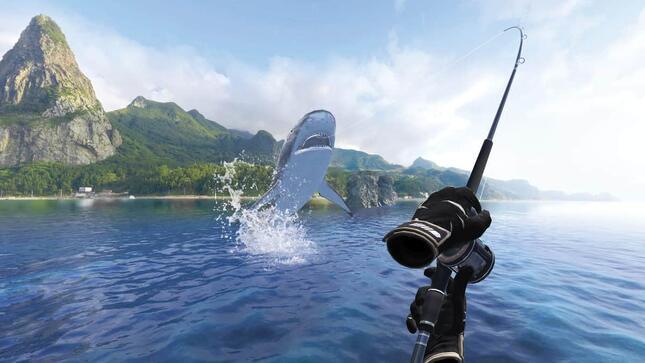 こんな大物だって釣れる(画像は「Real VR Fishing」公式より)