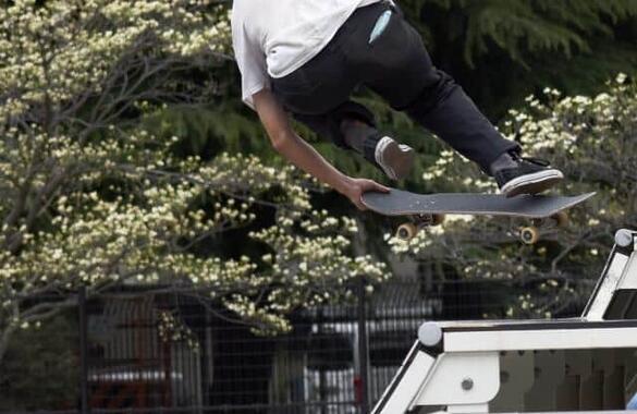スケートボードは魅力的なスポーツ