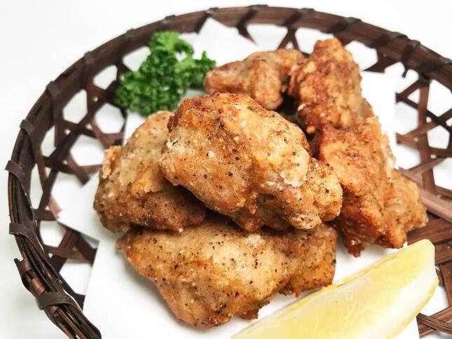 植物性食品「ミラクルミートブランド」として、ギョーザやハンバーグ、唐揚げにツナの4品をレシピ開発