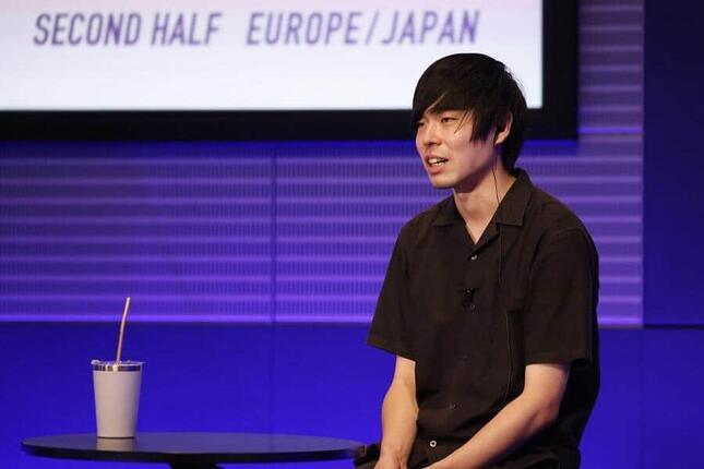 日本代表横瀬健斗さんのプレゼンテーション